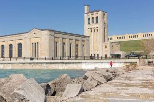 RC Harris water treatment plant in Toronto