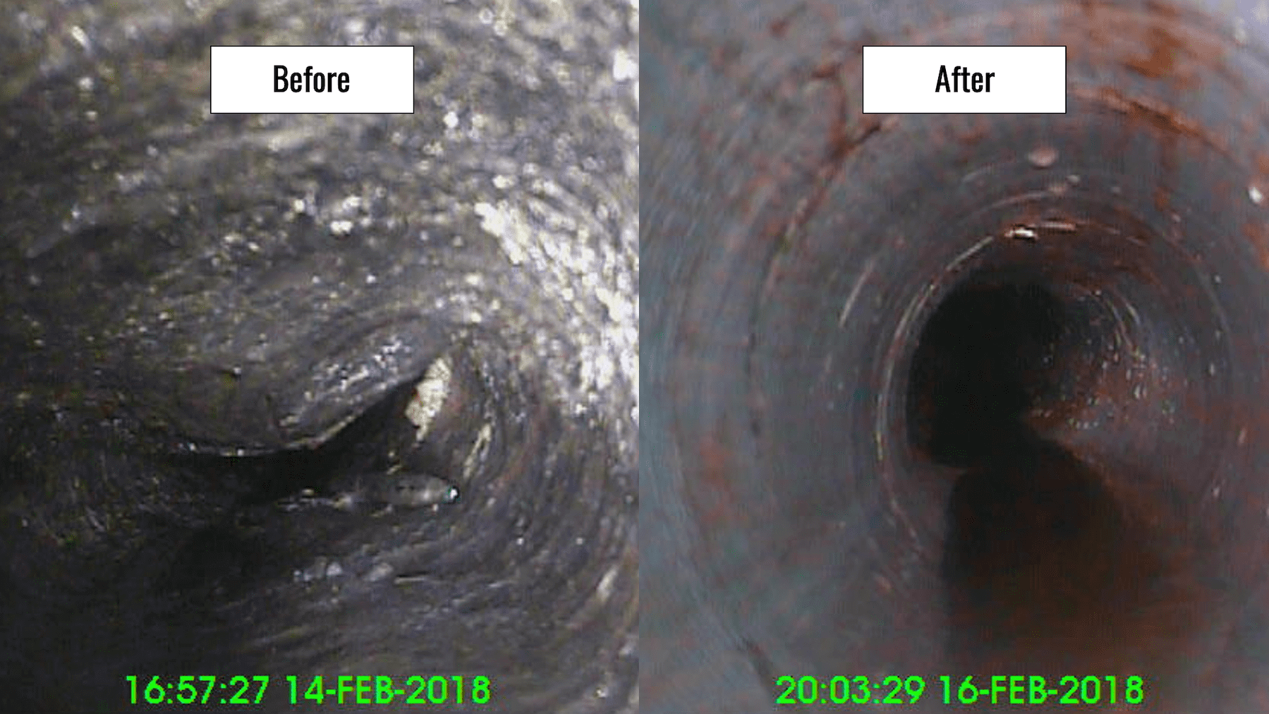 FORMADRAIN Before-After Image